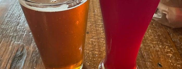 Taos Mesa Brewing Taos Tap Room is one of Tempat yang Disukai Max.