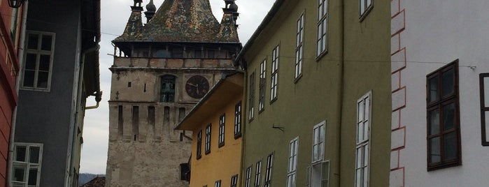 Сигишоара is one of UNESCO World Heritage Sites in Eastern Europe.