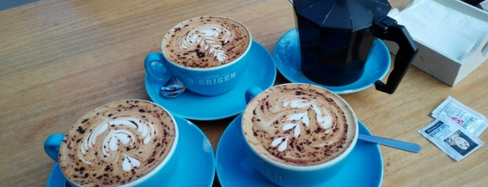 D·Origen Coffee Roasters is one of Noa'nın Beğendiği Mekanlar.