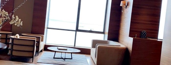 Sheraton Grand Samsun Hotel is one of Lugares favoritos de Ozgur.