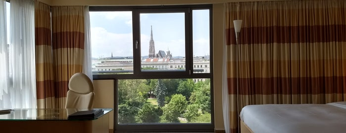 Hilton Vienna Park is one of MyHotels.