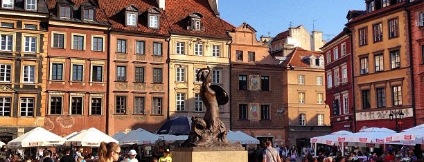 Rynek Starego Miasta is one of Varsó.