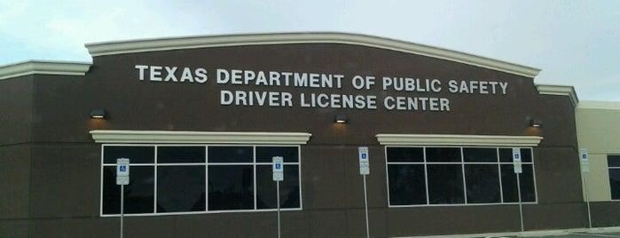Texas Department Of Public Safety Drivers License Center is one of สถานที่ที่ Amy ถูกใจ.