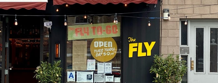 The Fly is one of NY Food.