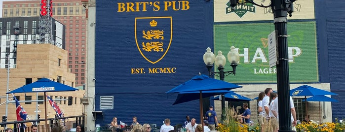 Brit's Pub is one of Bars.