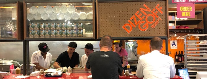 Dizengoff is one of vegan.
