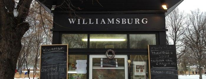 Williamsburg is one of Lugares guardados de 🦁.