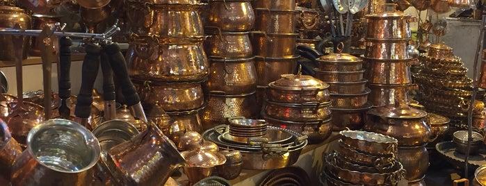 Coppersmith Market   بازار مسگرها is one of Lugares guardados de باها.