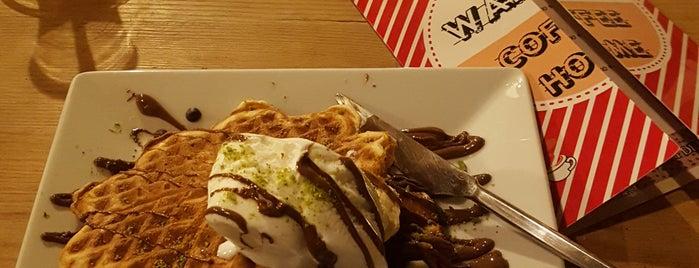 Waffle Coffee Home is one of Tempat yang Disukai Beyza.