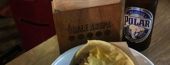 Órale Arepa is one of Foodie.
