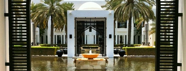 The Chedi Hotel is one of Where to go in Oman.