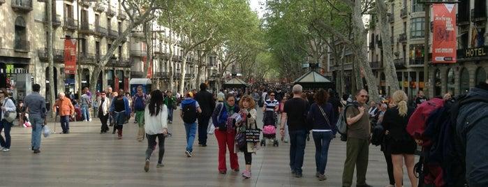 La Rambla is one of Barcelona in a weekend.