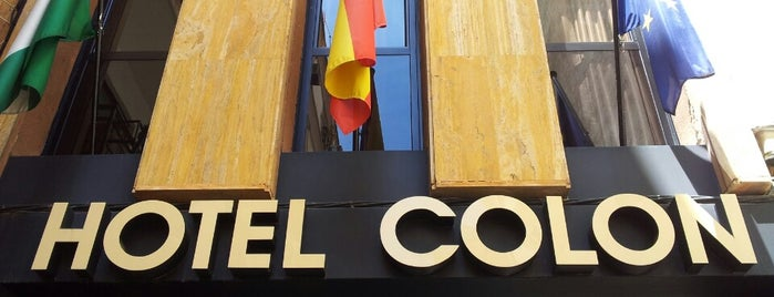 Hotel Itaca Colon is one of Donde dormir en Cordoba.