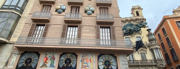 Casa Bruno Quadros is one of Barcelona 2k17.