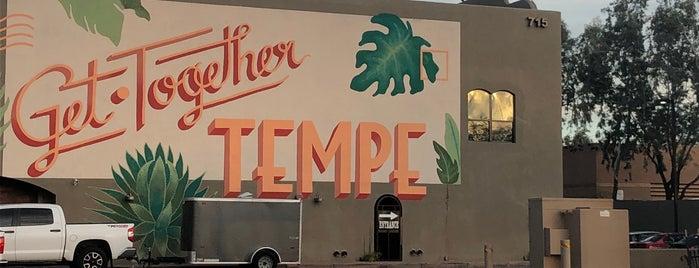 City of Tempe is one of Phoenix.