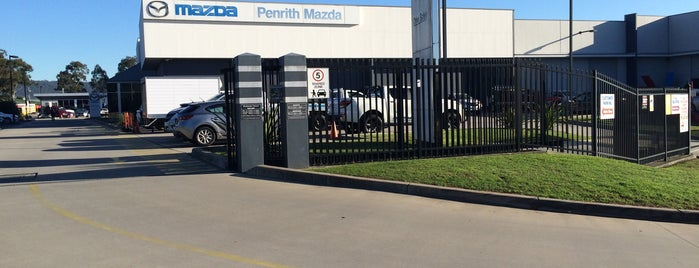 Penrith Mazda Centre is one of สถานที่ที่ Steve ถูกใจ.