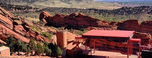 Red Rocks Park & Amphitheatre is one of Scenic Outdoor Music Venues.