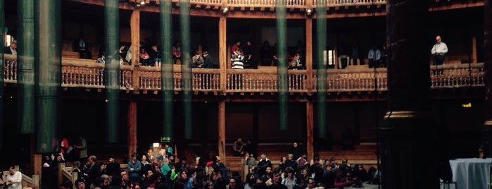 Shakespeare's Globe Theatre is one of Travel Guide to London.