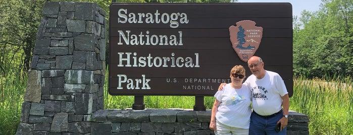 Saratoga National Historical Park Visitor Center is one of Nicholas : понравившиеся места.