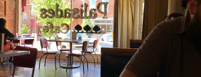 Palisades Cafe is one of Iowa.