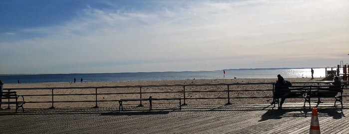 Brighton Beach is one of New York.