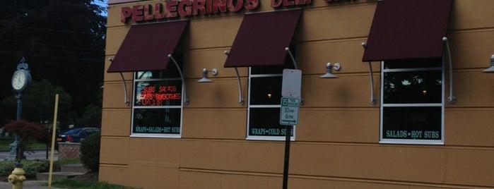 Pellegrino's Deli Cafe is one of Sebastianさんの保存済みスポット.