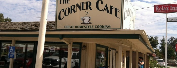 The Corner Cafe is one of My Best Eats.