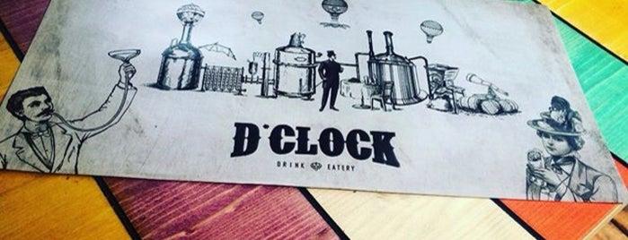 D'clock Pub Drink & Eatery is one of Lieux sauvegardés par Oguz.