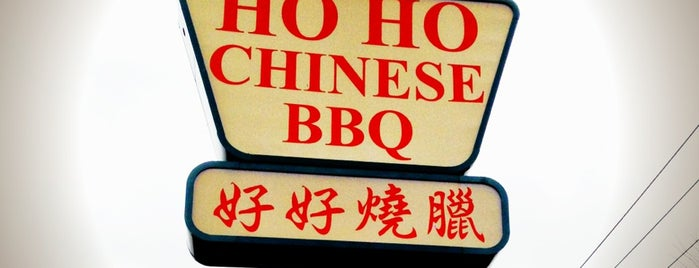 Ho Ho Chinese BBQ is one of Palate Pleasing Places.