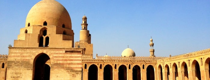 Ahmed Ibn Tulun Mosque is one of Cairo.
