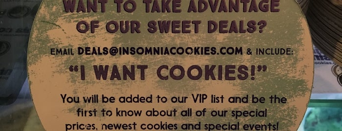 Insomnia Cookies is one of Andy : понравившиеся места.