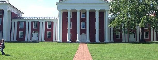 Washington and Lee University is one of Lexington Triad Founders Tour.