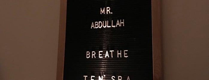 Ten Spa & Salon is one of Lugares guardados de Omar.