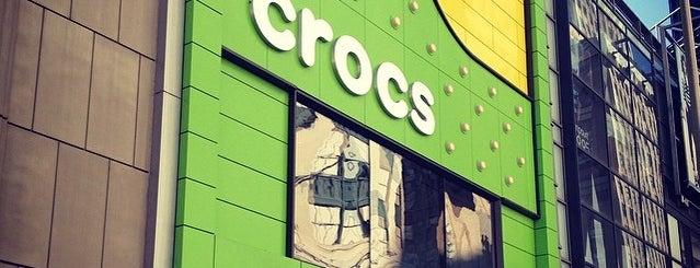 Crocs is one of NEW YORK.