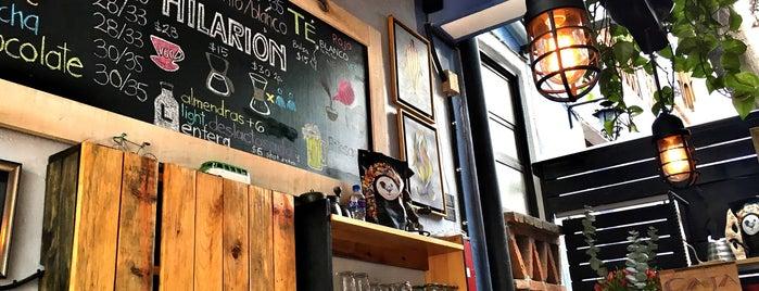 Hilarión Café-Bistro is one of Locais salvos de Griss.