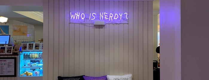 NERDY is one of KOREA.