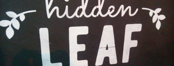 Hidden Leaf is one of Cape Town Vegan.
