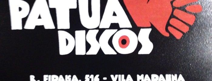 Patuá Discos is one of Sao Paulo.
