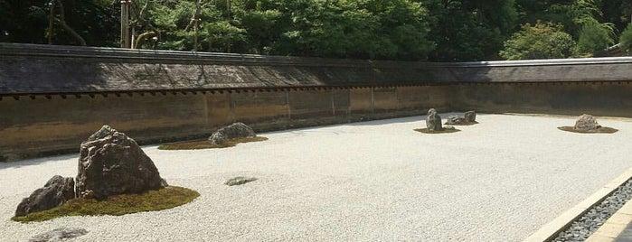 Ryoan-ji Temple is one of Posti che sono piaciuti a Los Viajes.