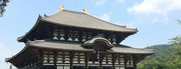 Todai-ji Temple is one of Posti che sono piaciuti a Los Viajes.