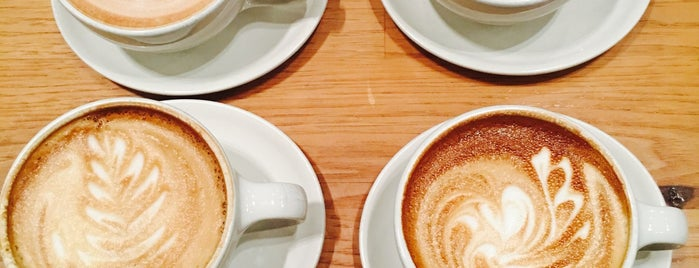 Blue Bottle Coffee is one of Iconic SF Tastes.