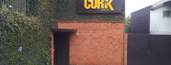 Cork Vinhos is one of สถานที่ที่ Daniele ถูกใจ.