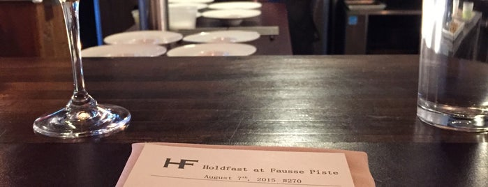 HoldFast at Fausse Piste is one of Best Restaurants in PDX.