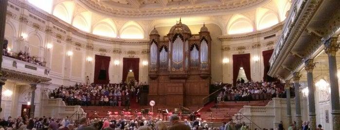 Het Concertgebouw is one of The Netherlands.