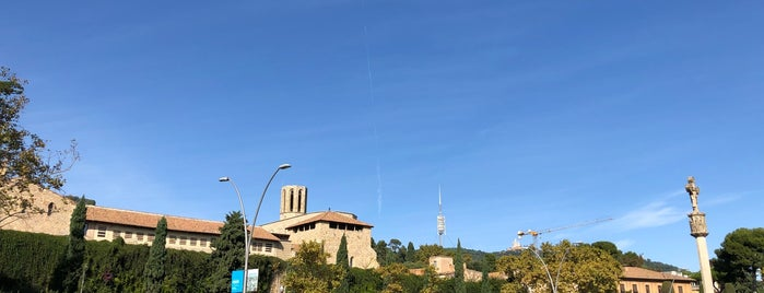 Monastery Of Pedralbes is one of Barcelona.
