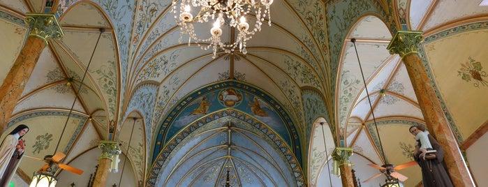 St. Mary's Catholic Church is one of Schulenburg, TX.