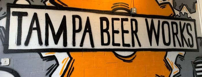 Tampa Beer Works is one of Gespeicherte Orte von Marlon.