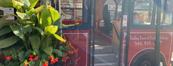 Trolley Tours of Fredericksburg is one of On The Road VA.