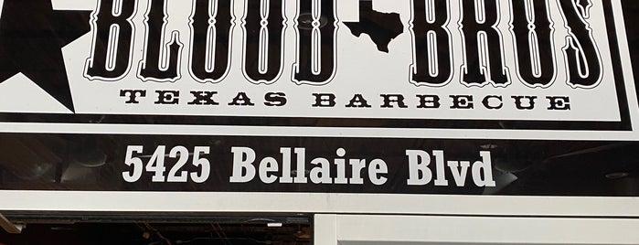 Blood Bros BBQ is one of Tempat yang Disimpan Joey.