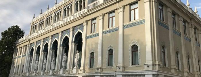 National Museum of Azerbaijanian Literature is one of G&S Baku.